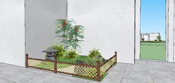 日式中庭院落花园景观设计(5)