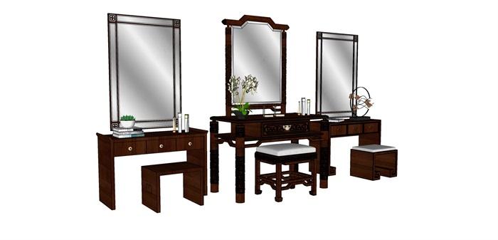 中式梳妆台组合(2)