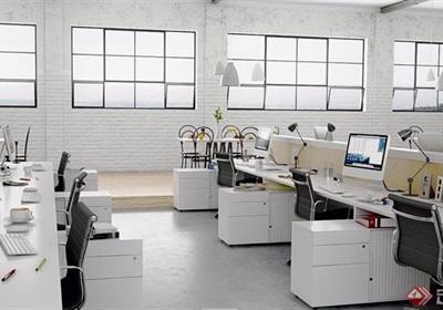 某整體詳細的辦公空間設計3d模型及效果圖