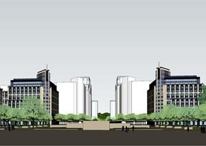 办公楼 新古典办公楼设计