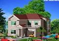 詳細的完整兩層歐式住宅別墅設計cad方案