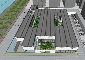 新中式风格售楼处 社区中心 会所