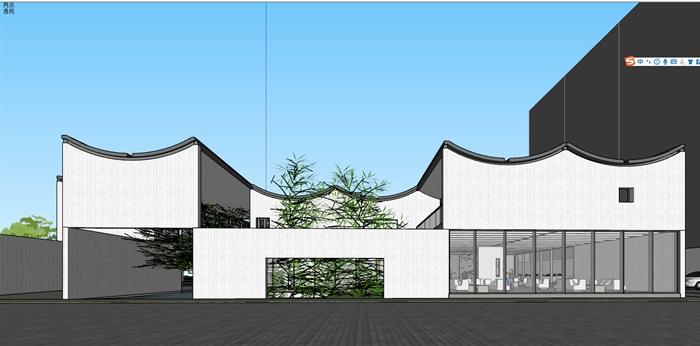 新中式风格售楼处(2)