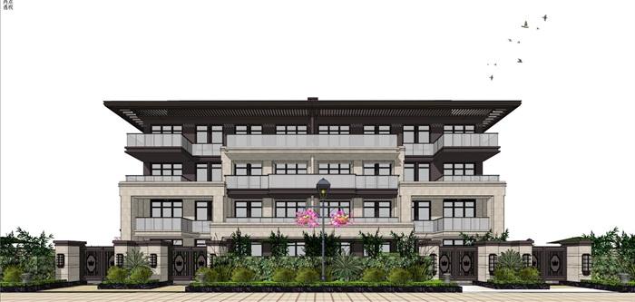 新亚洲住宅-+售楼处全套模型(1)