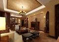 详细的北欧风格详细的客厅装饰设计3d模型及效果图