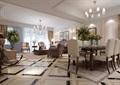 美式风格详细的住宅客厅装饰设计3d模型及效果图