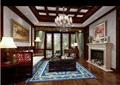 混搭风格详细的客厅装饰设计3d模型及效果图