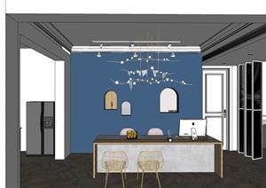 现代轻奢风珠宝展厅整体方案