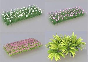 SU(草图大师)代理植物、灌木、花草