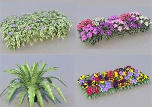 SU(草图大师)代理植物灌木、绿篱