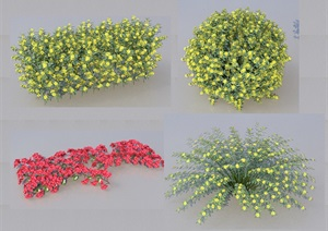 SU(草图大师)代理植物、球、藤蔓