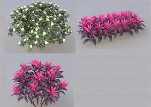 SU(草图大师)代理植物、绿篱代理、球代理