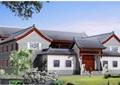 中式风格两层别墅建筑设计cad施工图