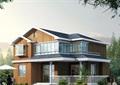 两层欧式住宅别墅设计cad方案及效果图