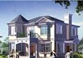 詳細的兩層歐式住宅別墅設計cad方案及效果圖