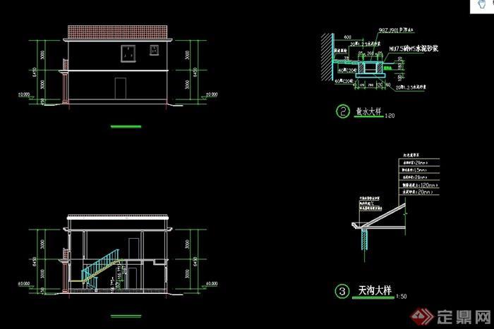 欧式水景两层图片小区v水景cad别墅及效果图住宅别墅风格方案图片