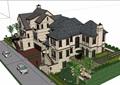 详细的欧式风格住宅别墅设计su模型