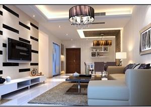 详细的现代住宅室内客厅装饰设计3d模型及效果图