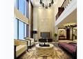 简欧住宅详细的客厅餐厅室内装饰设计3d模型及效果图