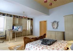 某住宅详细的室内卧室设计3d模型及效果图