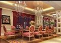 详细的完整住宅餐厅室内装饰3d模型及效果图