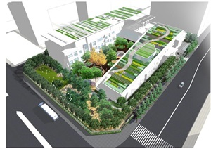 北京乐成国际幼儿园景观设计