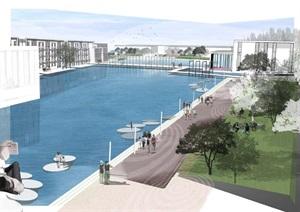 杜克大学中国昆山校区景观概念设计