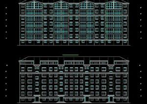 六层住宅楼建筑方案设计图