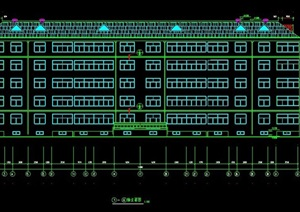 五层住宅楼建筑设计施工图纸