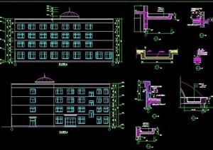 四层宿舍楼建筑设计方案