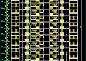 点式小高层住宅楼建筑设计图纸
