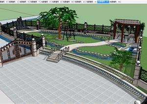 别墅-花园绿化景观设计