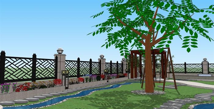 别墅-花园v别墅景观设计[原创]成都森林维多利亚别墅图片