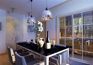 现代住宅详细的完整室内客厅装饰设计3d模?#22270;?#25928;果图
