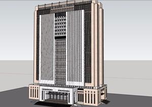 行政办公大楼SU(草图大师)模型
