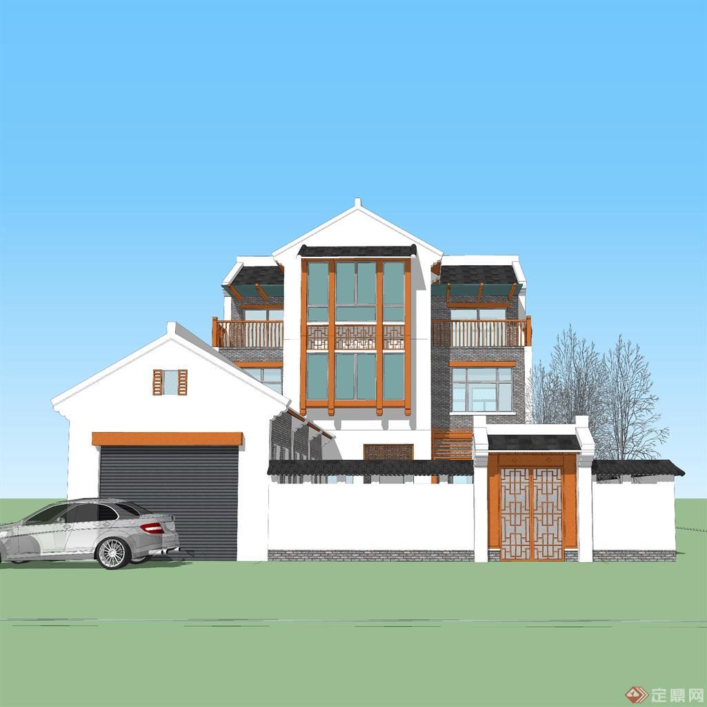 老家宅院方案二3