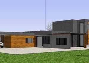 国外先锋式现代简约极简风格创意私人住宅别墅