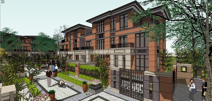 欧式新古典风格高端典雅别墅住宅(1)