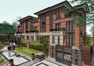 欧式新古典风格高端典雅别墅住宅