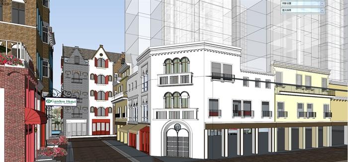 北欧欧式风格特色风情商业街欧式小镇规划(8)