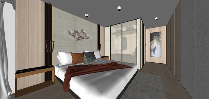 现代简约风精装LOFT住宅公寓室内设计(4)