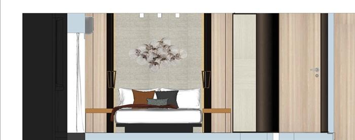 现代简约风精装LOFT住宅公寓室内设计(10)
