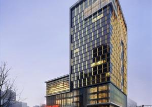 万豪现代五星级酒店旅店宾馆建筑施工图设计