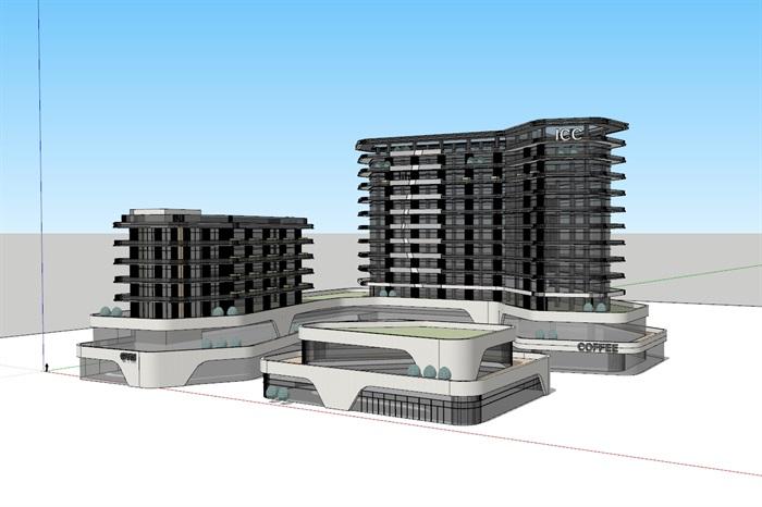 国际会议中心+公寓(1)