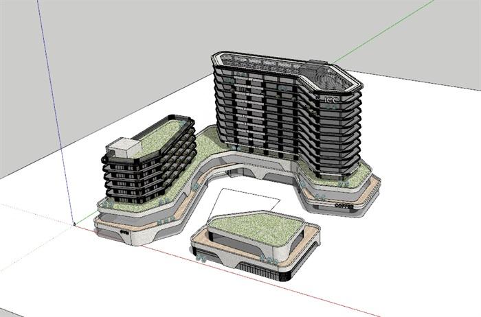 国际会议中心+公寓(3)