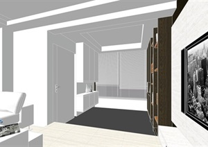 现代经典简约北欧风格住宅室内设计