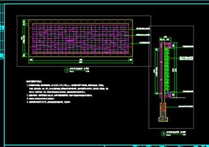 垂直绿化墙的标准做法详图