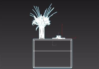详细的完整卧室柜子素材设计3d模型
