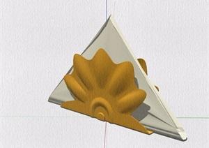 五种厨房设施素材设计SU(草图大师)模型