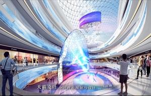 茂名万国汇广场等主题式购物中心设计效果图